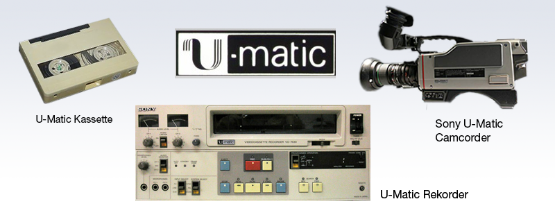 U-matic digitalisieren