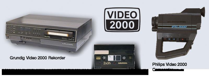 Video 2000 digitalisieren